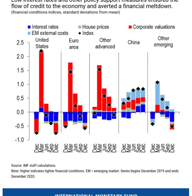 International Monetary Fund Warns of Severe Market Correction